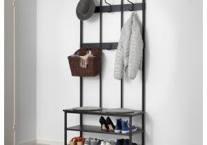 Ikea Standing Coat Rack Entryway Storage Bench with Coat Rack Furniture Diy Entryway Bench