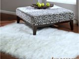 Ikea White Faux Fur Rug 5 Faux Fur Rectangular Sheepskin area Rug Bright White or Off