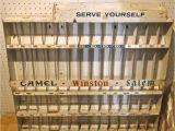 Image Works Cigarette Racks Vintage Cigarette Rack Camel Winston Salem Metal Wall Store Display