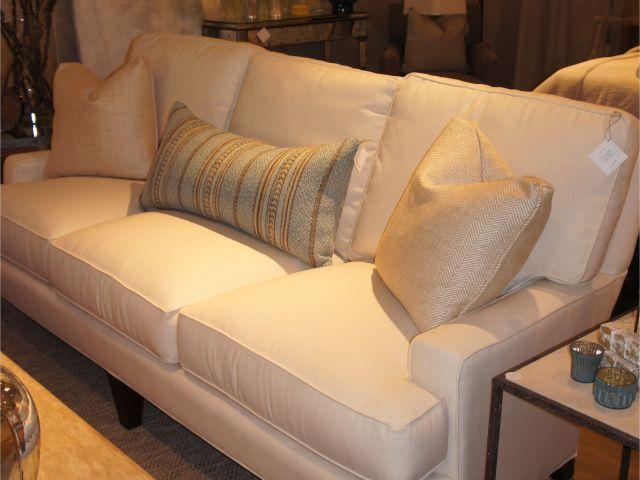Indoor Sectional Sofa With Sunbrella Fabric Sofa In Sunbrella Fabric