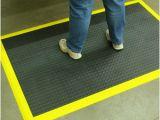 Industrial Flooring Tiles Aerobic Ergonomic Flooring Staylock Bump Floor Tile