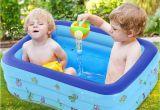 Inflatable Baby Bathtub Uk Inflatable Baby Swim Tubs Summer Newborn Baby Bath Water