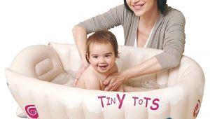 Inflatable Bathtubs for Babies Jilong Tiny tots Inflatable Baby Bath Tub Travel Infant
