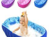 Inflatable Bathtubs for toddlers Retail Inflatable Baby Bathtub Newborns Bathing Tub Eco