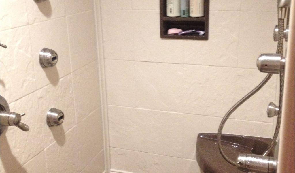 Installing A Shower Base solid Surface Shower Panels Showers ...
