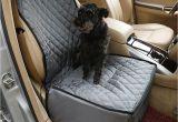 Interior Car Door Dog Protectors 2018 2 In 1 Pet Seat Cover Waterproof Dog Car Front Seat Crate Cover