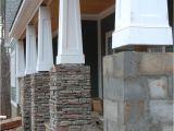 Interior Column Wraps Wood Tapered Columns Centurion Stone Ledge Pennsylvania House
