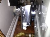 Interior Dryer Vent Wall Plate Installation Of A Dryer Vent In A Tight Space