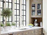 Interior Kitchen Window Trim Muted Colors with Black Windows Kitchen Design Love Pinterest
