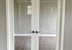Interior Slab Doors Sale Optional V Groove Glass Doors for Optional Study or Den Interior