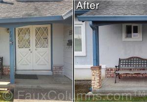 Interior Stone Column Wraps Porch Column Covers Home Decor Decordova Us