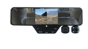 Interior Vehicle Security Cameras Falcon Zero F360 Hd Rearview Mirror Dual Dash Camera