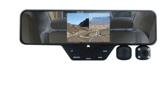 Interior Vehicle Security Cameras Falcon Zero F360 Hd Rearview Mirror Dual Dash Camera