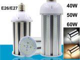 Intertek Led Lighting Dhl Shipping Led Corn Bulb Lights 30 40 50 60 Watt E26 E27 E39 E40