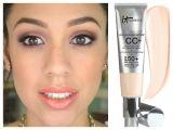 It Cosmetics Cc Cream Light It Cosmetics Cc Cream 1st Impressions Review Youtube