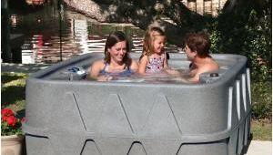 Jacuzzi Bathtub 4 Person Aquarest Spas Premium 400 4 Person Plug and Play Hot Tub