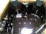 Jacuzzi Bathtub Heater 2 Person Bathtub Black Corner Unit Jacuzzi Type Whirlpool
