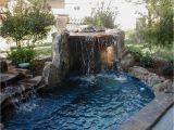 Jacuzzi Bathtub Outdoor Hot Tubs Built In Waterfall