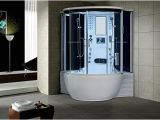 Jacuzzi Bathtub Uae Florence Steam Shower Sauna with Jetted Jacuzzi Whirlpool