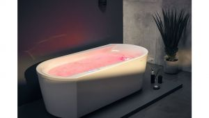 Jacuzzi Bathtub Usa Aquatica Purescape™ 107 Hydrorelax Freestanding Jetted Bathtub