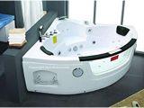 Jacuzzi Bathtubs for Two Whirlpool 2 Person Twin Spa Luxury Corner Jacuzzi Bath