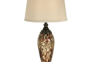 Jcpenney Dale Tiffany Lamps Dale Tiffany Mosaic Oval Art Glass 30 H Table Lamp with Empire