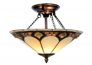 Jcpenney Dale Tiffany Lamps Dale Tiffany Th10493 16 Inch Wide Flush Mount Capitol Lighting 1