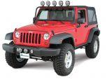 Jeep Wrangler Unlimited Light Bar Kc Hilites 7417 Windshield Mount Light Bar for 07 18 Jeep Wrangler