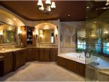 Jetted Master Bathtubs Master Bath Suite with Frameless Glass Shower Jacuzzi Tub