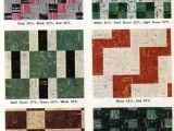 Kentile asphalt Floor Tile 30 Patterns for Vinyl Floor Tiles From the 1950s Belvidere