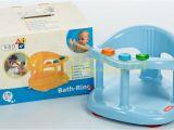 Keter Baby Bath Tub Seat Infant Baby Bath Tub Ring Seat Keter Blue Fast Shipping