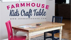 Kid Table and Chair Rentals Near Me Kids Farmhouse Table Let S Be Realistic Diy Projects Pinterest