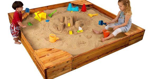 Kidkraft Backyard Sandbox 00130 Amazon Com Kidkraft Backyard Sandbox Honey toys Games