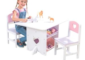 Kidkraft Heart Table and Chair Set Best Of Kidkraft Heart Table and Chair Set with Storage Bins