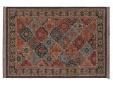 Kohls Rugs Mohawk Mohawka Home Lexington Multi Panel Ii Framed Floral Rug Library