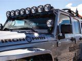 Komodo Utv Roof Rack Led Pro6 8 Light 50 Universal Combo Led Light Bar