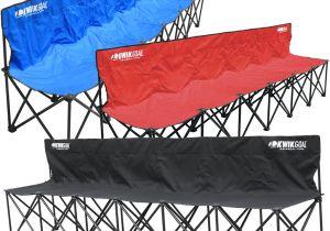 Kwik Goal 6 Seat Kwik Bench Kwik Goal 9b906 Kwik Bench Folding soccer Bench 6 Seater