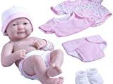 La Newborn 8 Piece Realistic Baby Doll Bathtub Set Amazon La Newborn 10 Piece Deluxe Diaper Bag Gift Set