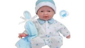 La Newborn 8 Piece Realistic Baby Doll Bathtub Set Jc toys Mini La Newborn Boutique Realistic 9 5