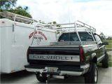 Ladder Rack for Cargo Trailer Custom Truck Racks and Van Racks by Action Welding