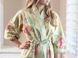 Ladies Bathrobes Plus Size Womens Long Lined Robe Kimono Robe Plus Size Bathrobe