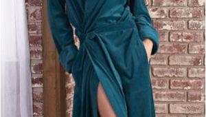 Ladies Bathrobes Sale Luxurious Velour Robe