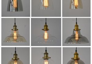 Lamp Shades Bed Bath and Beyond New Modern Vintage Industrial Retro Loft Glass Ceiling Lamp Shade
