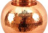 Large Decorative Copper Pots Indianartvilla No Coating Copper Pot Buy Online at Best Price In