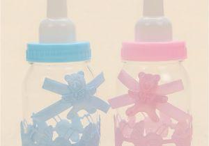 Large Plastic Baby Bottles for Baby Shower 2018 Baby Shower Boy Girl Baptism Christening Brithday Party Favors