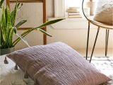 Large Velvet Floor Cushions Magical Thinking Hudson Oversized Tassel Pillow Magical Thinking