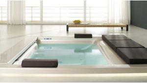 Large Whirlpool Bathtub Seaside for the Bathroom Hidden Pleasures Appliances