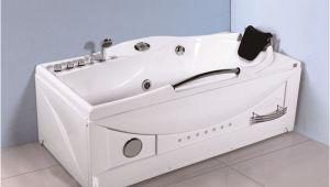 Large Whirlpool Bathtubs Whirlpool Tub with Led Light Shower Unit Jet Spa