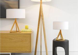 Large Yellow Floor Lamp Jacob Oak Floor Lamp Home Pinterest Floor Lamp Mid Century