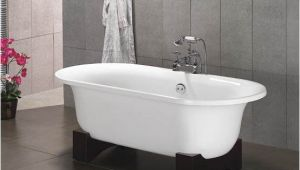 Largest Bathtubs Hakone asian Inspired Free Standing Bathtub & Faucet Large